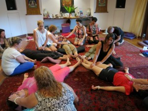 energy healing in group