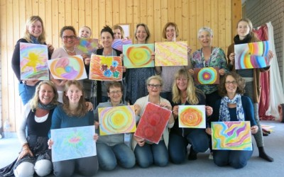 The 4 chambers of the Heart Women's workshop Stuttgart, Germany, May 2015