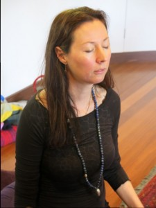 Natalie in Meditation in SOL Spirit of Light Training