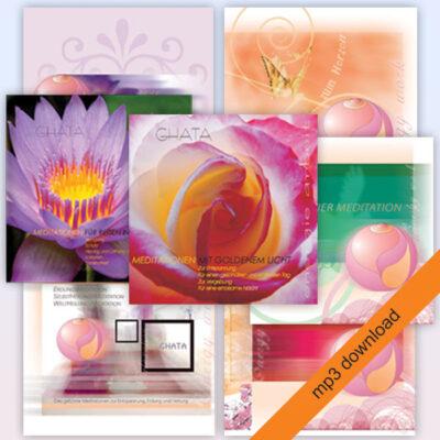 geführte Meditationen von Ghata Kombipack - mp3 Herunterladen