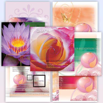 geführte Meditationen von Ghata Kombipack - CD's